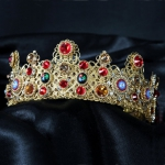 gold-red-wedding-baroque-dolce-metal-vintage-swarovski-crown-24k-01